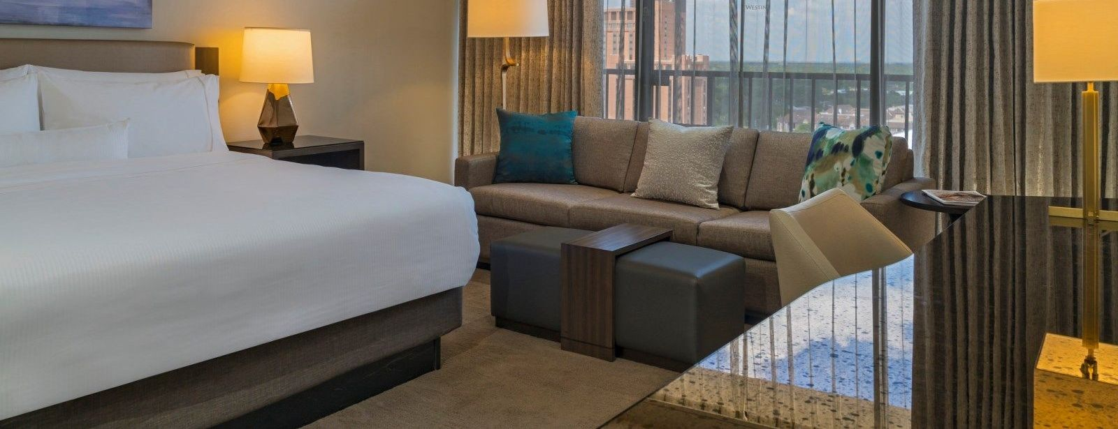 Executive Suite Bedroom  - The Westin Galleria Houston